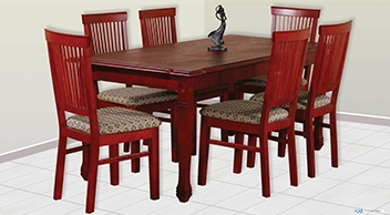 Damro Wooden VERGO DINING SUITE Price