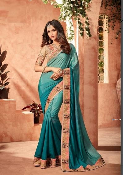 Designer Blue Saree Price in Srilanka