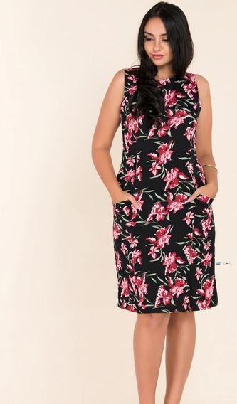 Sleeveless Printed Party Dress Price in Srilanka
