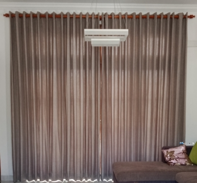 Curtain With Blind