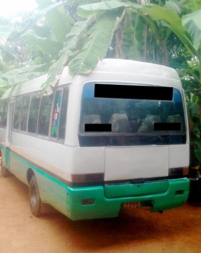 Mitsubishi Rosa Bus 1991 In Sri Lanka