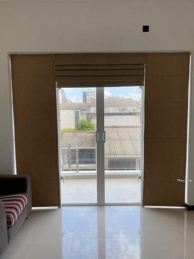 Curtain with Blinds
