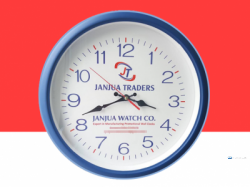 Promotional Wall Clock Branding