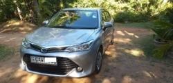 Toyota Axio G Grade 2015