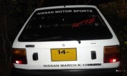 Nissan March K10 1986