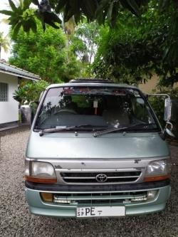 Toyota Super GL Van 2001