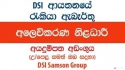 Marketing Officers – DSI Samson Group