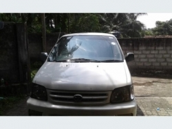 Toyota CR42 Van for Rent