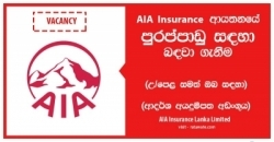 Business Manager – Partnership Distribution – AIA Insurance Lanka Limited