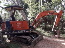 Kubota 27 Excavation