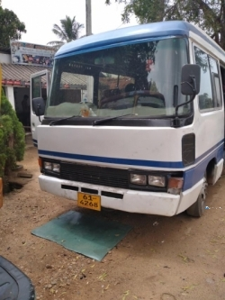 Toyota Coaster Bus 1989