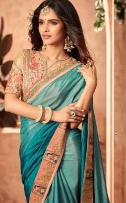 Designer Blue Saree Price in Srilanka