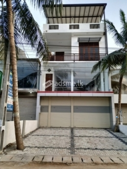 Commecial and Residence Building for Rent In Walgama Matara