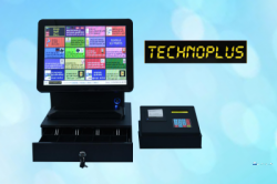 Technoplus Self Payment System with Cash drawer ( Reload Machine )