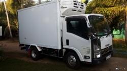 Isuzu Elf Freezer Lorry 2014