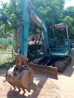 Kubota KH70 Excavation